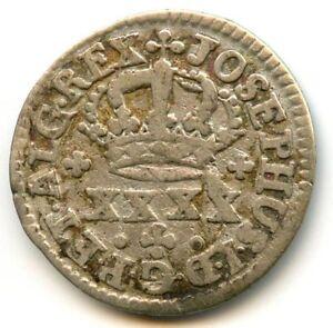 Portugal Joseph I (1750-1777) 40 Reis (Pataco) ND(1750) Km 236.1