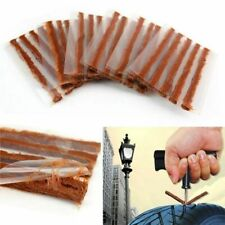 10set (50pc) Car Tyre Tubeless Seal Strip Plug Tire Puncture Repair Recovery Kit