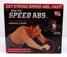 Iron Gym Speed Abs The Ultimate Abdominal Trainer IGSAPKG20714-A 207KZ