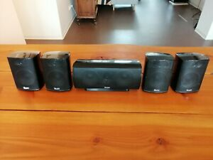 5 x Teufel Satelliten-Lautsprecher K 30 FR - Bundle (4xFR / 1xC)