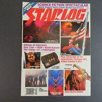 Starlog July 1982 #60 SciFi Magazine - Blade Runner - Star Trek - Tron - ET