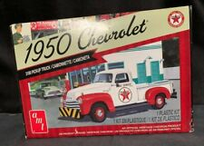 AMT 1950 CHEVROLET 3100 PICKUP TRUCK TEXACO EVERYTHING INCLUDED +