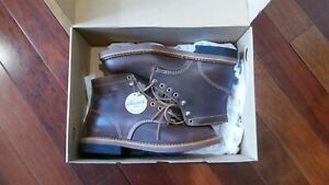 Thorogood 1892 Beloit Brown Chromexcel Horween Leather Boots - Size 7.5 D