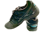 Asics Gel Nimbus 20 Gel Resolution 7 Mens Black Size 9.5 Tennis Shoes E701Y