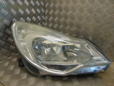 2011 Vauxhall Corsa D Drivers Side Headlamp O/S Headlight 13295018