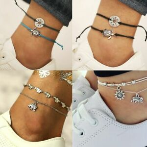 Bracelet Women Fashion Ankle Bracelet Infinity Endless Charm Love Symbol