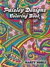 Adult Coloring Book.: Paisley Designs Coloring Book by Marty Noble...