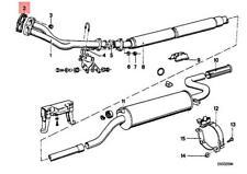 Genuine BMW 114 E12 E21 E23 E24 E28 E3 E30 E9 Gasket Asbestos Free 18111728363