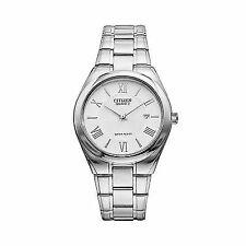 New Citizen Men's Silver-Tone Stainless Steel Quartz Movement Watch BI0951-58A
