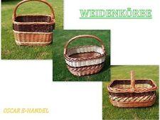 Weidenkorb Autokorb aus Weide Einkaufskorb Tragekorb Picknickkorb + Geschenk