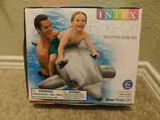 Brand new in box Intex Dolphin pool ride-on