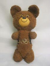 Moscow Olympic Games 1980. Olympic Bear Misha. Plush Figurine