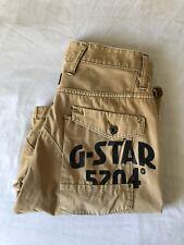 G-Star Raw Men's Beige Cargo Shorts (Sand Colour) Size 30