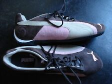 PUMA RACING CAT SUEDE BROWN / PINK SNEAKERS SHOES WOMEN SIZE 7 Sport Lifestyle