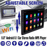 "9"" Android 8.1 1DIN Stereo Autoradio bluetooth GPS Navigation WIFI MP5 DVD DAB+"