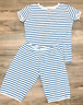 Mini Boden girls pajama short john  4 5 6 7 8 9 10 11 12 13 14 years striped