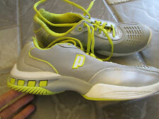 PRINCE SNEAKERS  SHOES ATHLETIC SHOES WOMENS 9.5 GRAY/YELLOW