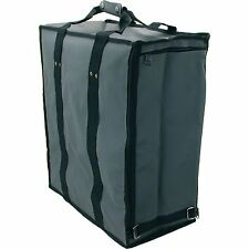 Gray Soft  Jewelry Display Travel Carrying Case