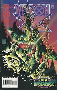 Wolverine Weapon X Comic 3 Cover A First Print 1995 Hama Kubert Green Marvel