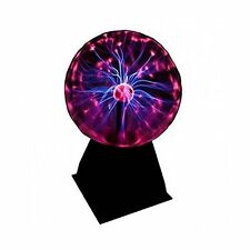 "Funky Retro Internative Plasma Ball 8"" Lamp Light - Boxed Electric Show Novelty"