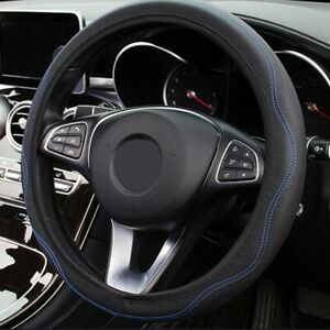 1* Car Cover Steering wheel Decorate Four Seasons Good Grip PU Leather