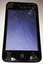 Apple iPod Touch 4th Gen. Black 8 GB Cracked Glass Bad LCD