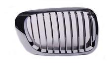 BMW 3 E46 99-03 CABRIO / COUPE Rene griglia radiatore ANTERIORE DX NERO / CHROM