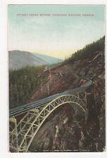 Canada, Stoney Creek Bridge, Canadian Rockies Postcard, B155