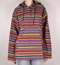 FESTIVAL Hippie Boho RAINBOW Hoodie Top Size 8 - 12 NEW #1823