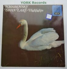 SPA 224 - TCHAIKOVSKY - Swan Lake highlights MOREL Royal Opera Ho - Ex LP Record