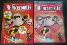 The Incredibles (Dvd, 2005) Factory Sealed W/Slipcover See Pics