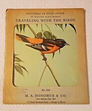 Vintage Traveling with the Birds Picture Pack and Book HC DJ