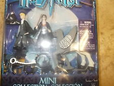 Harry Potter Detailed Mini Collection Harry, Draco Malfoy, Buckwheat Card damage