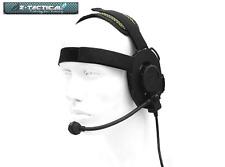 Z-TACTICAL Evo III Headset BK NERO SISTEMA COMUNICAZIONE CUFFIE AIRSOFT SOFTAIR