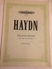 Haydn - Nelson-Messe, Klavierauszug von Wilhelm Weissmann
