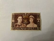 Excellent Unmounted, Great Britain, 12 May 1937, Coronation, Stamp, 1 1/2d, Rare