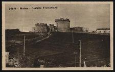 cartolina MATERA castello tramontana