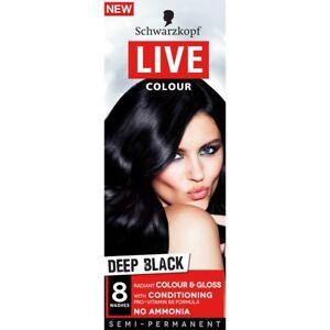 Schwarzkopf Live Colour Black long-lasting, glossy colour
