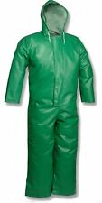 Tingley Rubber V41108 Safety Flex Coverall with Hood, Small, Green