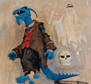 MUPPETS SHOW Palisades Exclusive UNCLE DEADLY w/ WHITE SKULL GHOST Action Figure