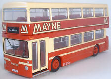 28001 efe daimler fleetline dms double deck bus mayne de manchester 1:76 diecast