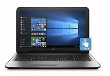 "HP Notebook AMD A10-9600P 3.3Ghz 12GB RAM 1TB HDD 15.6"" Windows 10 Home Touch"
