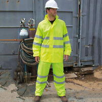 Result R216X Safeguard High Viz Vis Waterproof Suit Jackets Reflective Trousers