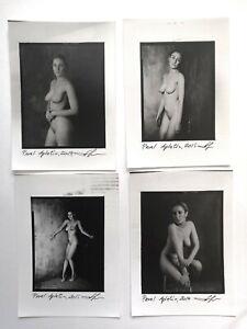 Fine art contact print Pavel Apletin silver gelatin nude woman Gelatin Silver