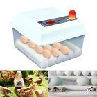 16 Eggs Incubator Automatic Digital Turner Hatcher Chicken Temperature Control