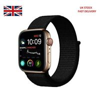 Nylon Woven Strap For Apple Watch iWatch Series1/2/3/4/5 38-40mm Sport Loop Band