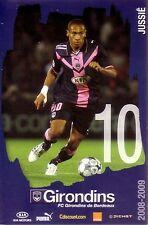 JUSSIE *** Carte Postale *** Girondins de Bordeaux *** 2008/2009