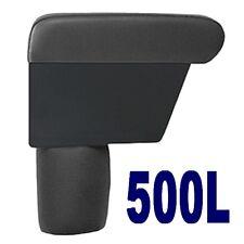 Bracciolo Premium per FIAT 500 L colore NERO -MADE IN ITALY - appoggiabraccio -@