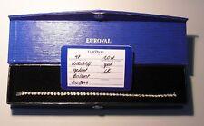 Tennisarmband, Gold 585 + Brillant 1,0 ct., 19 cm
