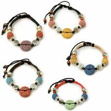 Lava Bead Aromatherapy Diffuser Scent Bracelet Yoga Essential Oil Aroma HOT NEW